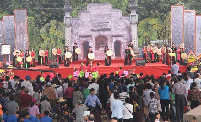Việt Yên (Bắc Giang) khai hội truyền thống chùa Bổ Đà