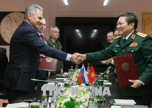 Đại tướng Ngô Xuân Lịch phát biểu tại Hội nghị An ninh Quốc tế Moskva