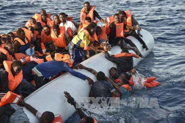 Số người di cư bất hợp pháp ở Libya giảm mạnh