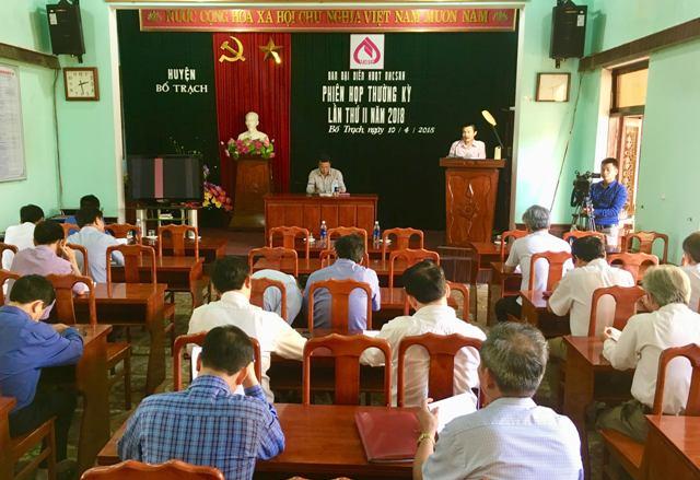 Quý II/2018: NHCSXH Bố Trạch, Quảng Bình tiếp tục thực hiện hiệu quả nhiệm vụ được giao