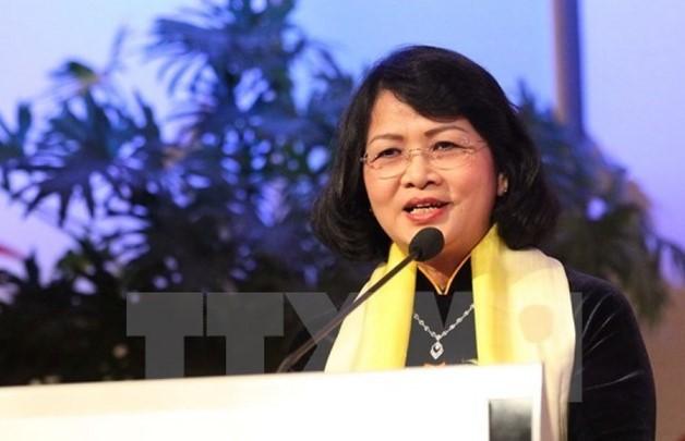 Phó Chủ tịch nước tham dự Hội nghị Thượng đỉnh Phụ nữ toàn cầu