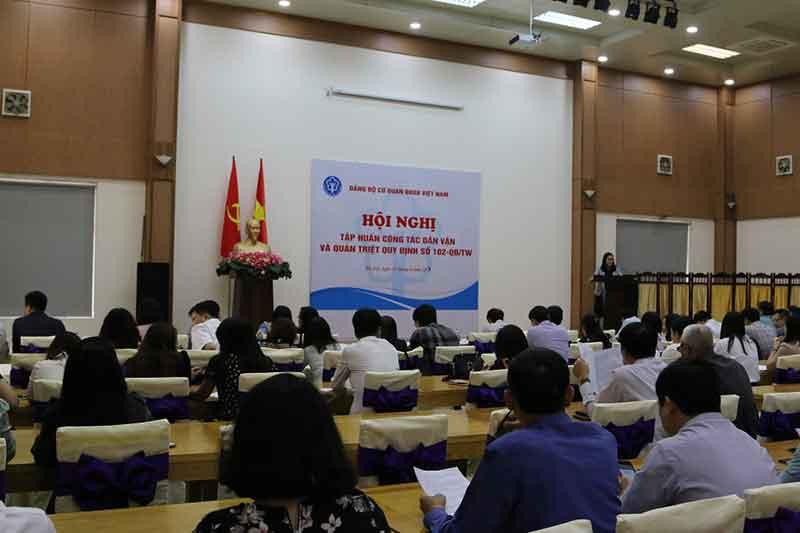 Đảng bộ cơ quan Bảo hiểm xã hội Việt Nam quán triệt quy định về xử lý kỷ luật đảng viên vi phạm