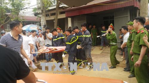 Vụ sạt lở đất tại Lào Cai: 3 nạn nhân đã tử vong