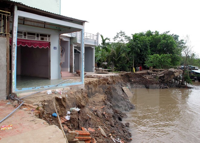 Tăng cường các giải pháp phòng chống sạt, lở tại Đồng bằng sông Cửu Long