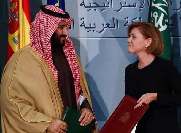 Tây Ban Nha ký thỏa thuận khung bán tàu chiến cho Saudi Arabia