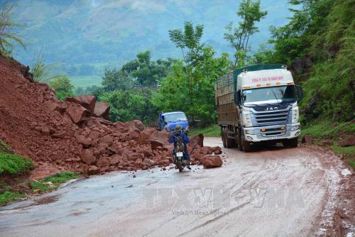 Bắc Bộ nhiều nơi mưa to, nguy cơ sạt lở đất ở vùng núi