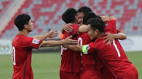 Đội tuyển Việt Nam đang áp sát Top 100 thế giới