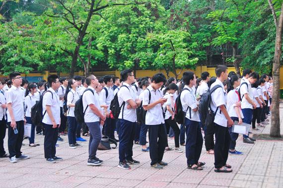 Từ năm học 2019-2020, Hà Nội tuyển sinh vào lớp 10 bằng bài thi tổ hợp
