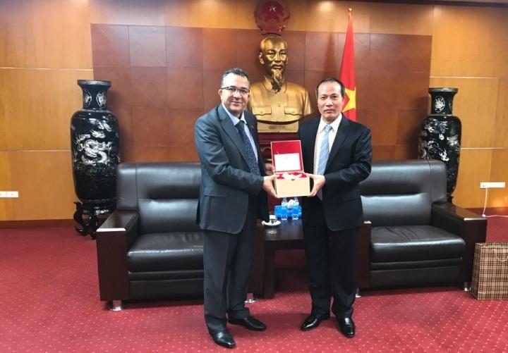 Đại sứ Ma-rốc  tại Việt Nam làm việc với Bộ Công Thương