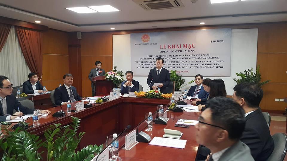Đào tạo 200 chuyên gia tư vấn cho ngành công nghiệp hỗ trợ Việt Nam