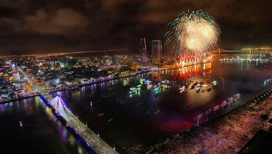 Cấm phương tiện thủy lưu thông trên sông Hàn dịp Lễ hội pháo hoa quốc tế Đà Nẵng