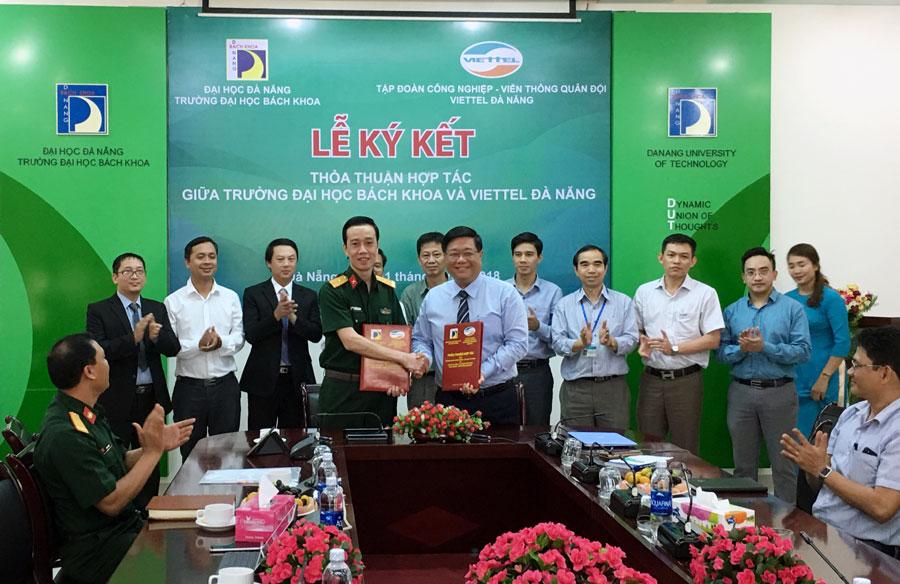 Đại học Bách khoa Đà Nẵng hợp tác toàn diện với Viettel