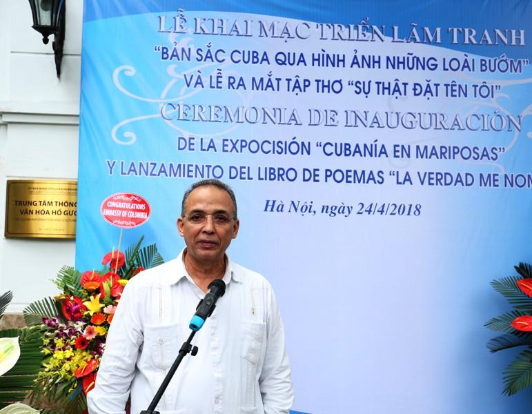 Triển lãm tranh và ra mắt Tập thơ của Anh hùng Cuba Antonio Guerrero Rodriguez