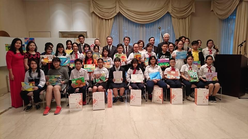 Trao giải cuộc thi sáng tác thơ Haiku cho trẻ em thế giới lần thứ 15
