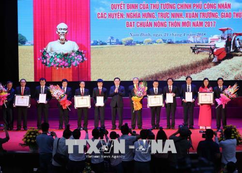 Phó Thủ tướng Vương Đình Huệ: Tránh tình trạng bê tông hóa, cứng hóa nông thôn