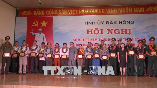Đắk Nông: Gắn việc thực hiện Chỉ thị 05-CT/TW với đẩy mạnh các phong trào thi đua yêu nước