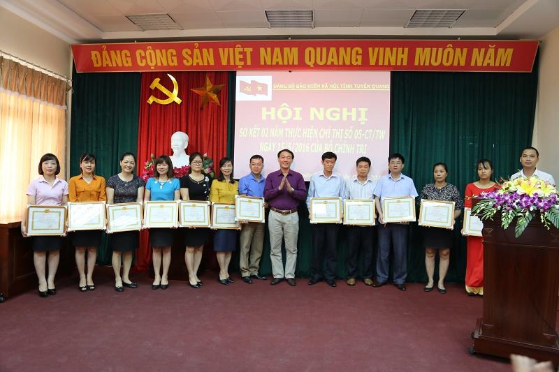 BHXH tỉnh Tuyên Quang sơ kết 02 năm thực hiện Chỉ thị số 05-CT/TW của Bộ Chính trị