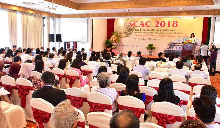 Hơn 120 báo cáo trình bày tại Hội nghị quốc tế LSCAC 2018