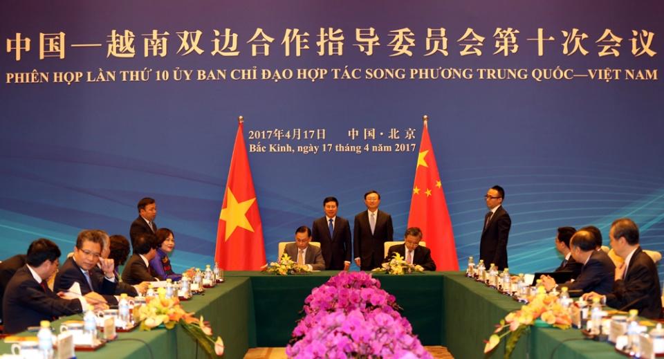 Đàm phán vòng XI Nhóm công tác về hợp tác trong các lĩnh vực ít nhạy cảm trên biển Việt Nam - Trung Quốc