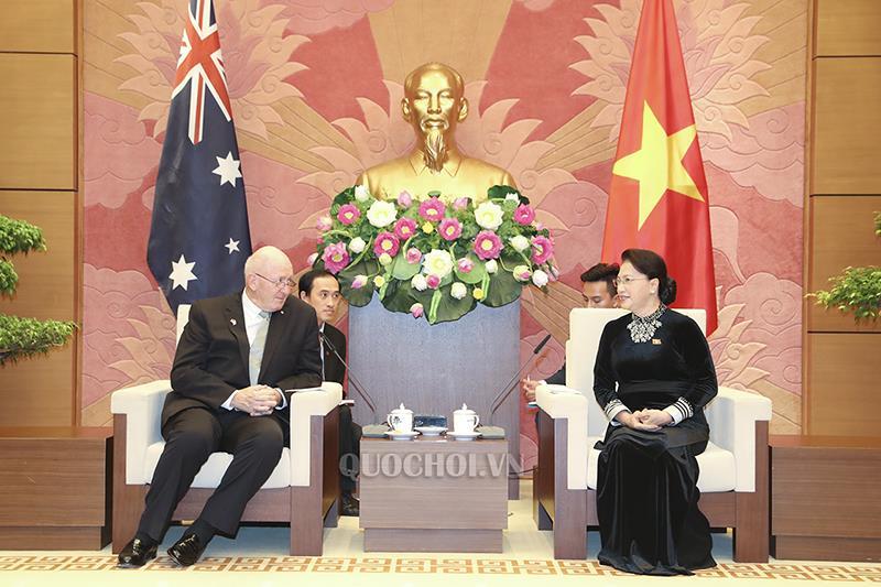 Quốc hội Việt Nam luôn ủng hộ việc phát triển mạnh mẽ quan hệ với Ô-xtrây-li-a