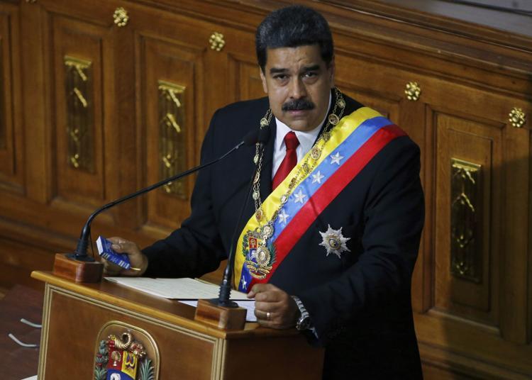 Tổng thống Venezuela Nicolas Maduro tuyên thệ nhậm chức nhiệm kỳ hai