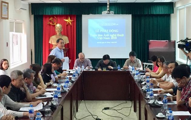 Phát động triển lãm Ảnh nghệ thuật Việt Nam 2018