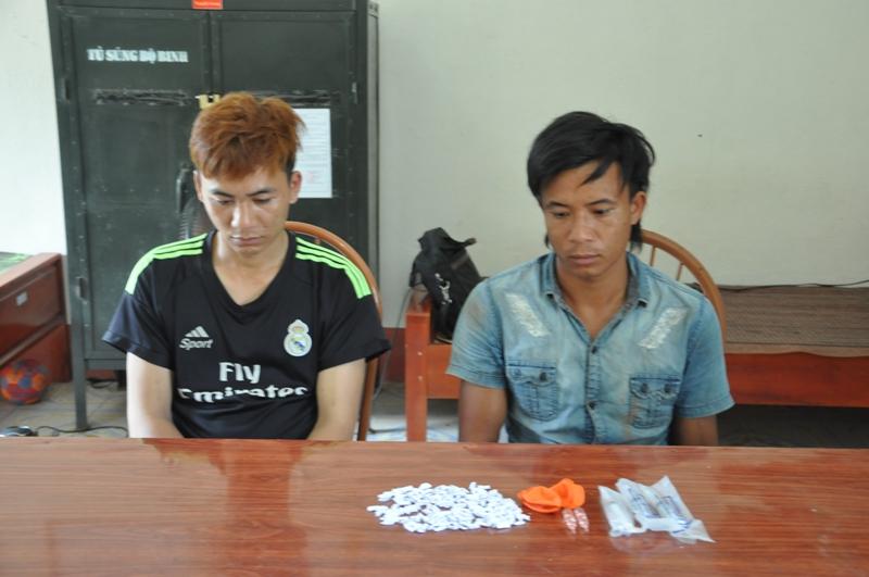 Quảng Ninh: Bắt giữ 2 đối tượng cùng 175 gói ma túy