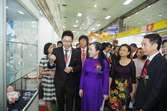 Nhiều thương hiệu y tế hàng đầu tham dự Vietnam Medi - Pharm 2018