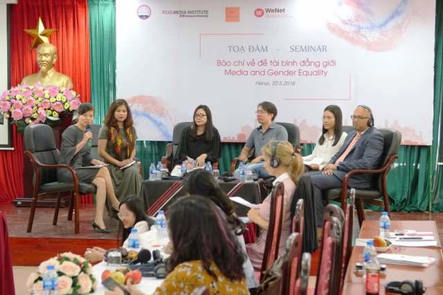 Bình đẳng giới và báo chí Việt Nam