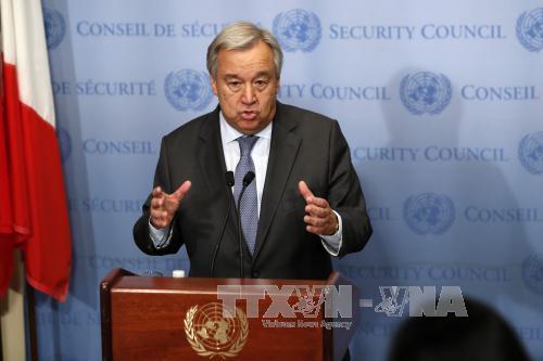 Tổng Thư ký Liên hợp quốc lên án các vụ tấn công khủng bố tại Indonesia