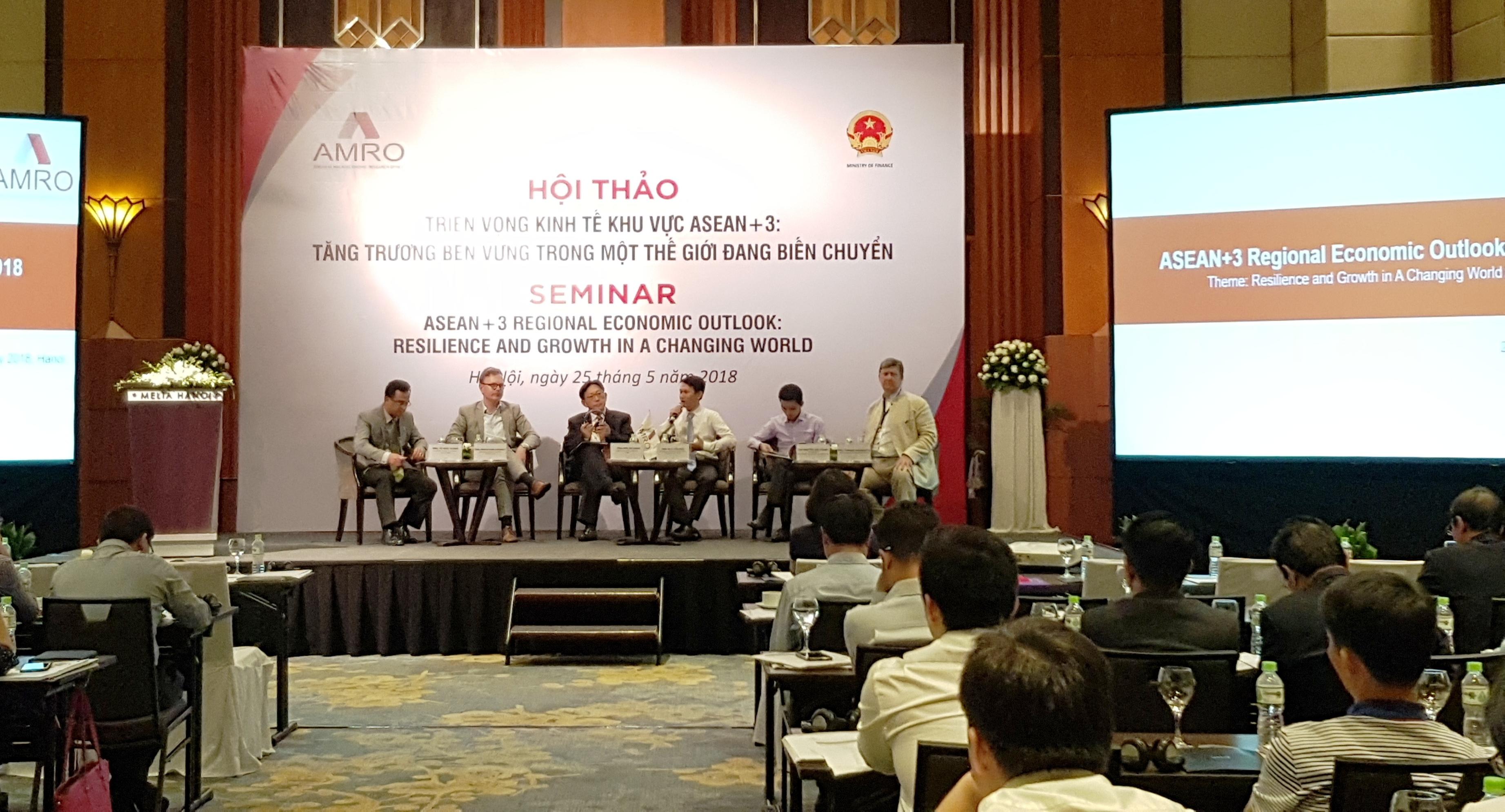 Nhiều cơ hội, triển vọng phát triển kinh tế khu vực ASEAN+3