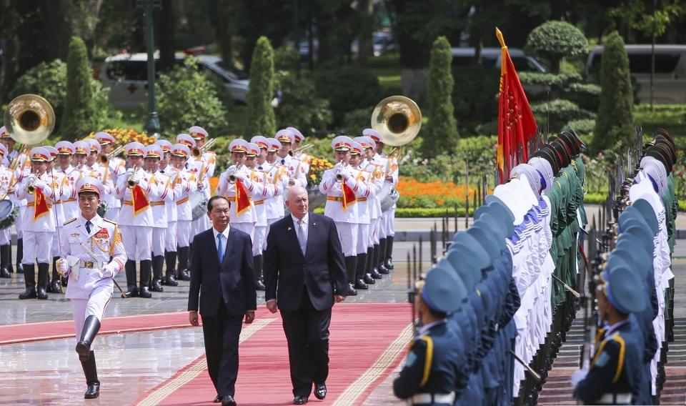 Quan hệ Việt Nam - Australia phát triển mạnh mẽ và hiệu quả