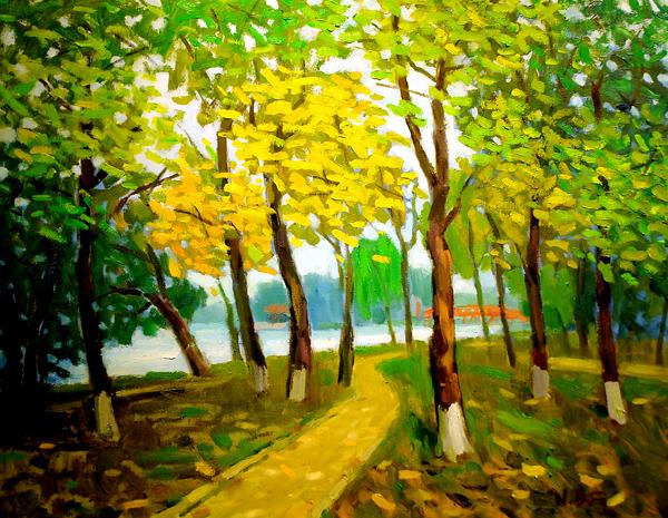 """""""Mùa hạ"""" trong hội họa"""