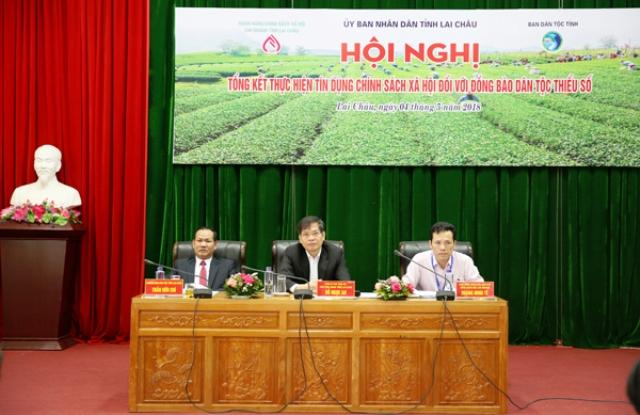 Hội nghị tổng kết thực hiện tín dụng chính sách đối với đồng bào DTTS trên địa bàn tỉnh Lai Châu