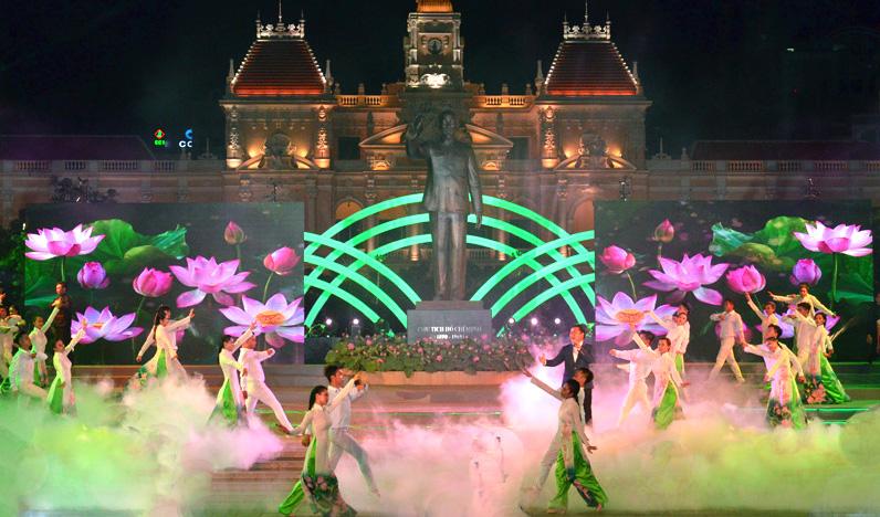 Thành phố Hồ Chí Minh tổ chức nhiều hoạt động kỷ niệm 128 năm ngày sinh Bác Hồ