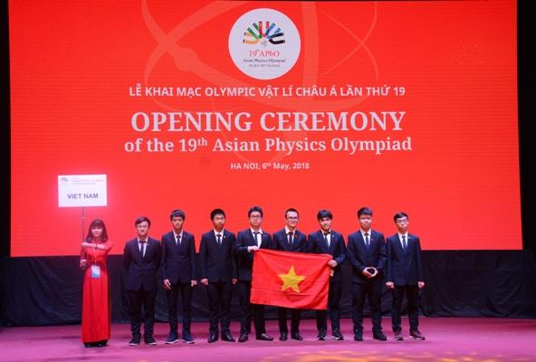 Khai mạc kỳ thi Olympic Vật lý Châu Á lần thứ 19