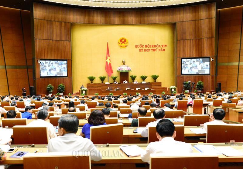 Thông cáo số 1 kỳ họp thứ 5, Quốc hội khóa XIV