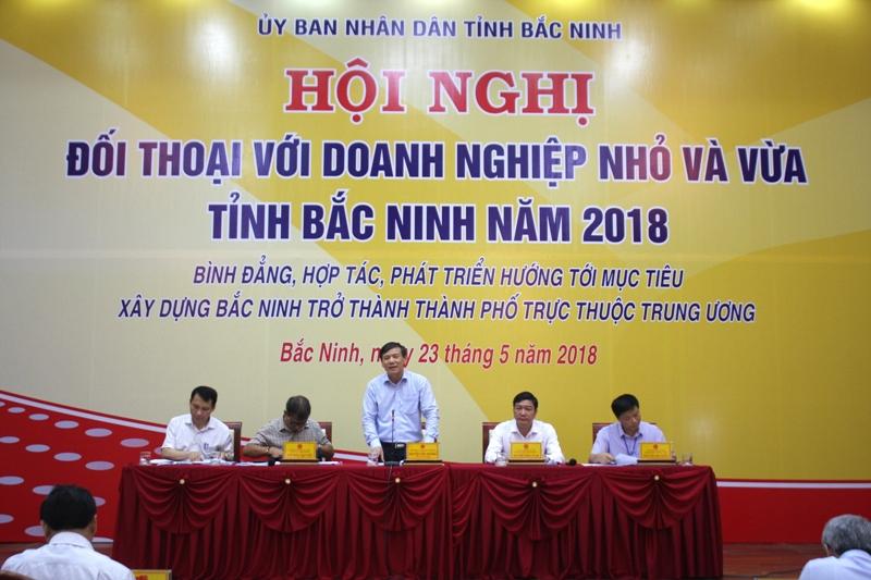 Bắc Ninh tổ chức đối thoại với doanh nghiệp nhỏ và vừa