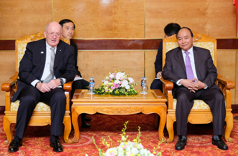 Làm sâu sắc hơn nữa quan hệ hợp tác Việt Nam - Ô-xtrây-li-a