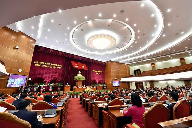 Ngày làm việc thứ hai của Hội nghị lần thứ bảy Ban Chấp hành Trung ương Đảng khoá XII