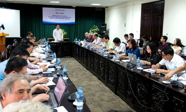 Hội thảo lấy ý kiến về tiêu chí quy hoạch xây dựng tượng đài Quốc tổ Hùng Vương