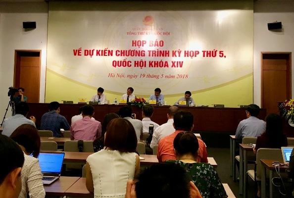 Kỳ họp thứ 5, Quốc hội khóa XIV: Tiếp tục đổi mới hoạt động chất vấn và trả lời chất vấn