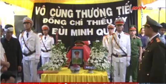 Truy tặng Huân chương Dũng cảm cho chiến sỹ Cảnh sát Phòng cháy, chữa cháy tỉnh Gia Lai