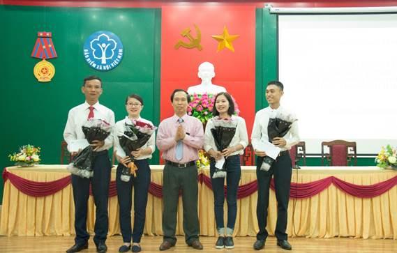 BHXH Hà Tĩnh tuyên dương tập thể, cá nhân tiêu biểu trong học tập và làm theo tư tưởng, đạo đức, phong cách Hồ Chí Minh