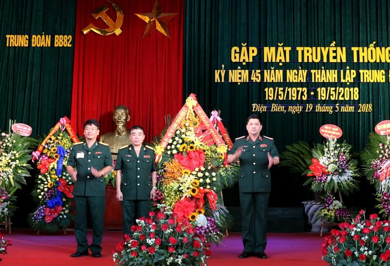 Trung đoàn Bộ binh 82 (Quân khu 2) kỷ niệm 45 năm Ngày thành lập