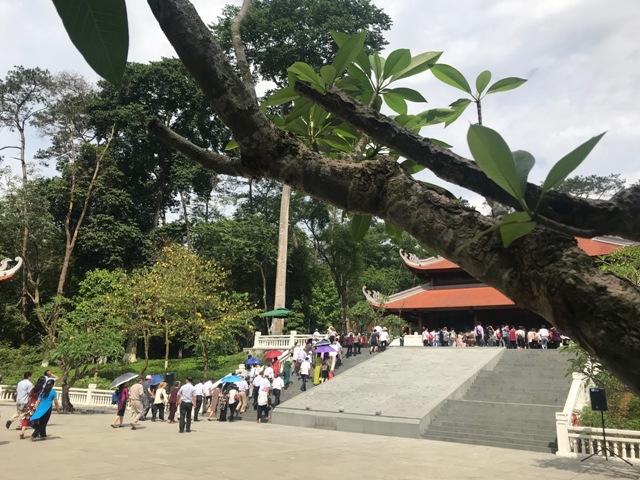 Thăm khu di tích K9, Đá Chông trong những ngày tháng 5 lịch sử
