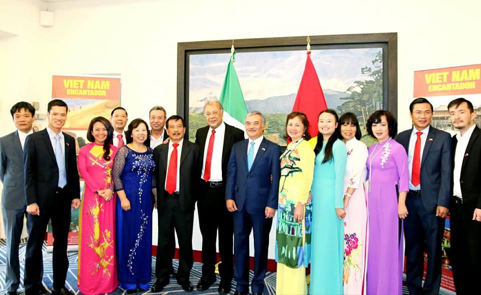 Kỷ niệm 43 năm thiết lập quan hệ ngoại giao Việt Nam – Mexico