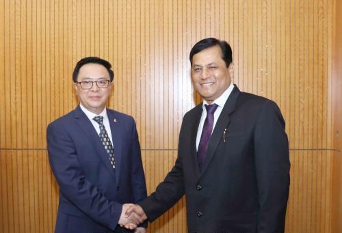 Thúc đẩy hợp tác giữa các địa phương của Việt Nam với bang A-xam của Ấn Độ