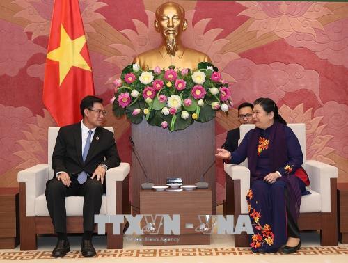 Tạo điều kiện để Đoàn thanh niên hai nước Việt Nam - Lào hợp tác