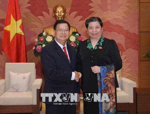 Tăng cường quan hệ hợp tác, hữu nghị giữa Quốc hội hai nước Lào - Việt Nam